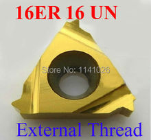 Buy 16ER 16 UN Carbide Threading Inserts External Threading Insert Indexable Lathe Inserts Threaded Lathe Holder for $24.41 in AliExpress store