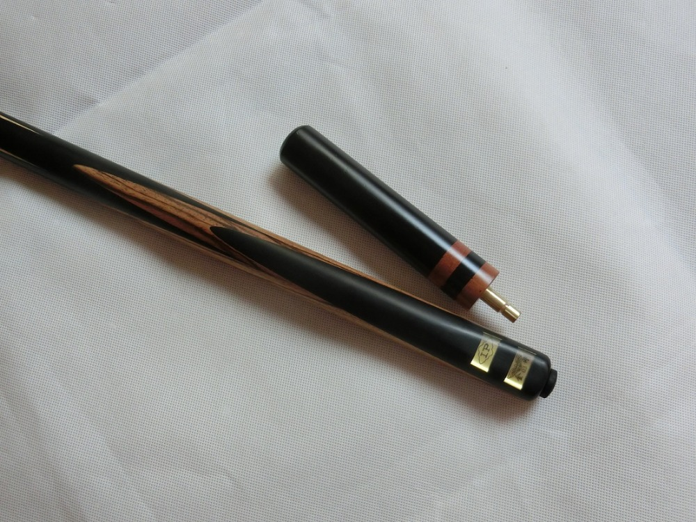 Superior quality 1-pc ash wood Billiard Queue, Pool cues, one-piece hand made ebony Snooker cue stick(China (Mainland))