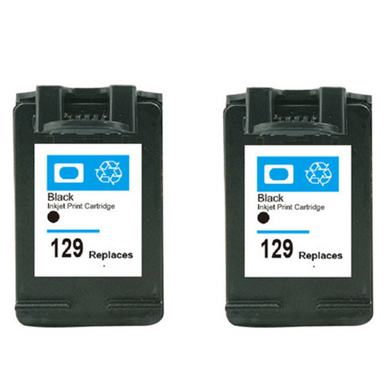 Black for hp 129 xl ink cartridge for hp deskjet 6940 5943 for Ink sale