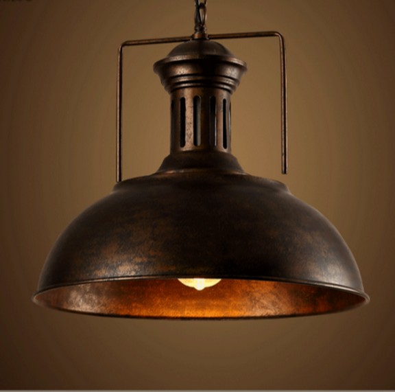 Industrial Loft Style Antique Lamp Edison Bulb Vintage Pendant Light Fixtures For Dining Room Hanging Droplight Indoor Lighting<br><br>Aliexpress