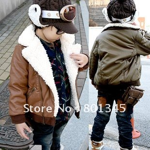 ,,2012 new brand children coat,infant clothes winter reflective cotton coats,in fur,Plush 2-8T,brack yellow - Children's shop store