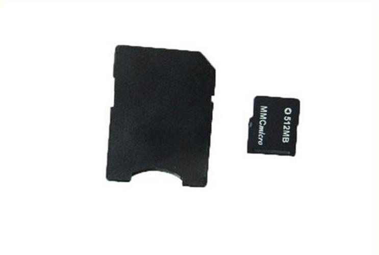 MMCmicro Micro MMC CARD 512mb memory flash card Micro MMC CARD + adapter(China (Mainland))