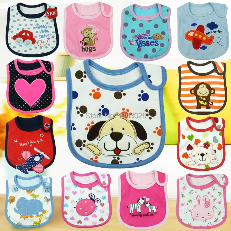 100% cotton baby bibs carters apron saliva towel carter's child boys girls kids waterproof newborn hello kitty bibs(China (Mainland))
