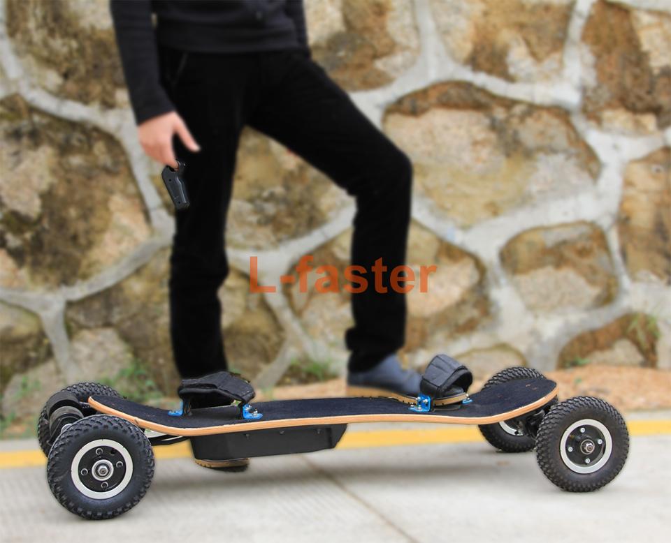 electric off road skateboard belt drive -2-a