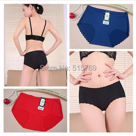 Hot Sale High Quality 16 colors Briefs Top Seamless Girls Undies Sexy Panties Woman Underwear Lingerie