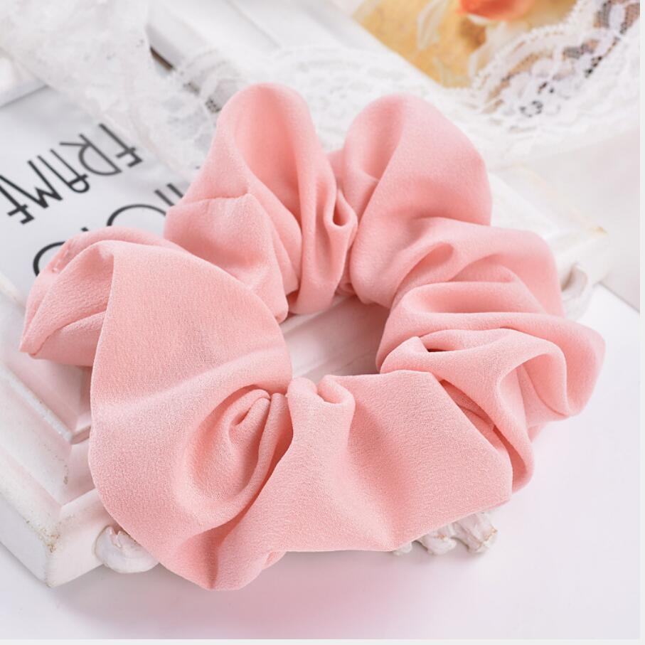 1piece Free shipping Elastic hair bands with chiffon Lovely gift for women girl hair accessories good headwear with cheap price(China (Mainland))