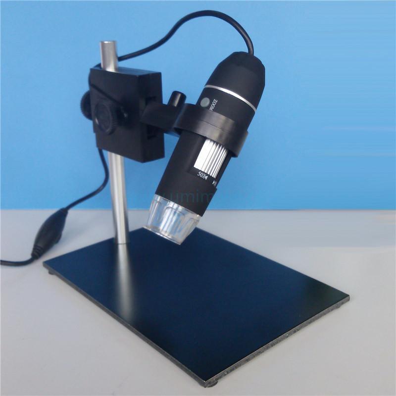 Adusted Stand 8LED 2MP 1600X Digital USB Microscope Mini Endoscope Magnifier Camera Free Shipping(China (Mainland))