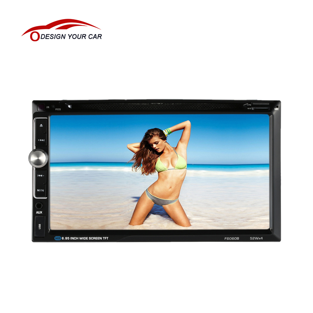 Universal Double 2 Din Car DVD player Car Autoradio Video Multimedia MP3/4/MP5 Player Car Stereo audio player BT 7'' TouchScreen(China (Mainland))