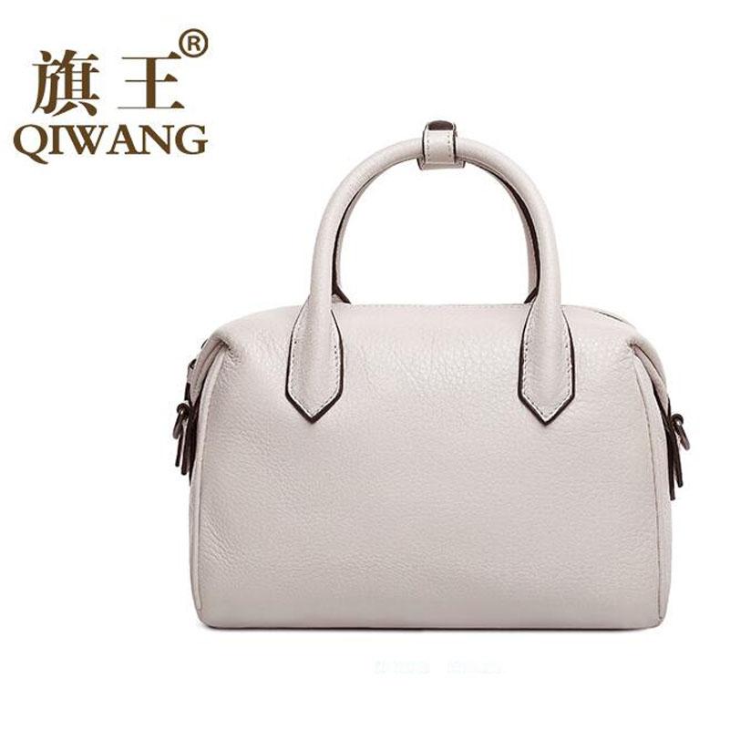 Фотография Famous brand dermis women bag  2016 new stylish shoulder Messenger Bag Simple wild handbag Boston bag