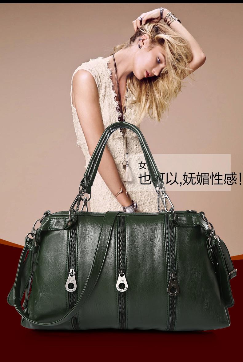 ซื้อ BeaumaisออกแบบBrand New 2016สตรีกระเป๋าคุณภาพหนังกระเป๋าสะพายขนาดใหญ่กระเป๋าวินเทจผู้หญิงกระเป๋าMessenger Bolsa BG611