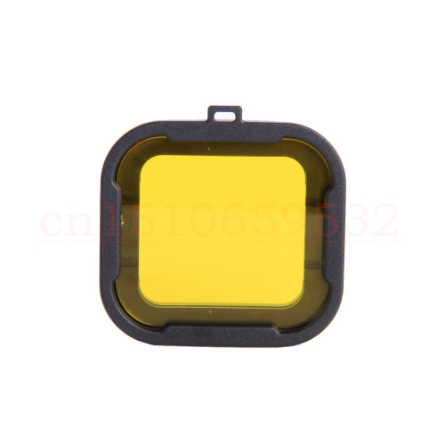 Yellow Mini Camcorder Gopro Accessories Polarizer Red Color Underwater Dive Lens Filter For GoPro Hero 4 Hero 3+(China (Mainland))