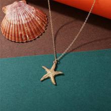 9 thiết kế Thời Trang Shell Starfish Dây Chuyền Mặt Dây Chuyền Cho Phụ Nữ Cô Gái Quà Tặng Cổ Điển Vàng Màu Choker Bohemian Vòng Cổ Trang Sức 2019(China)