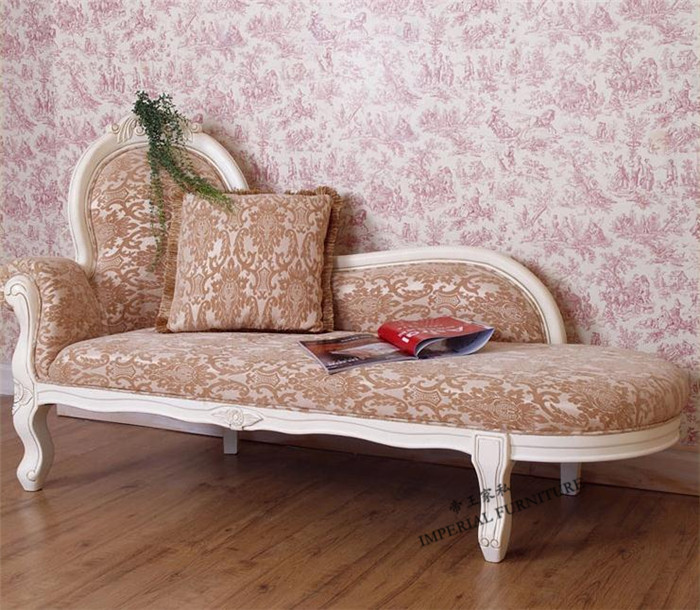 Cheap American Country European Solid Wood Furniture Living Room Sofa Chaise Lounge Chairs Can