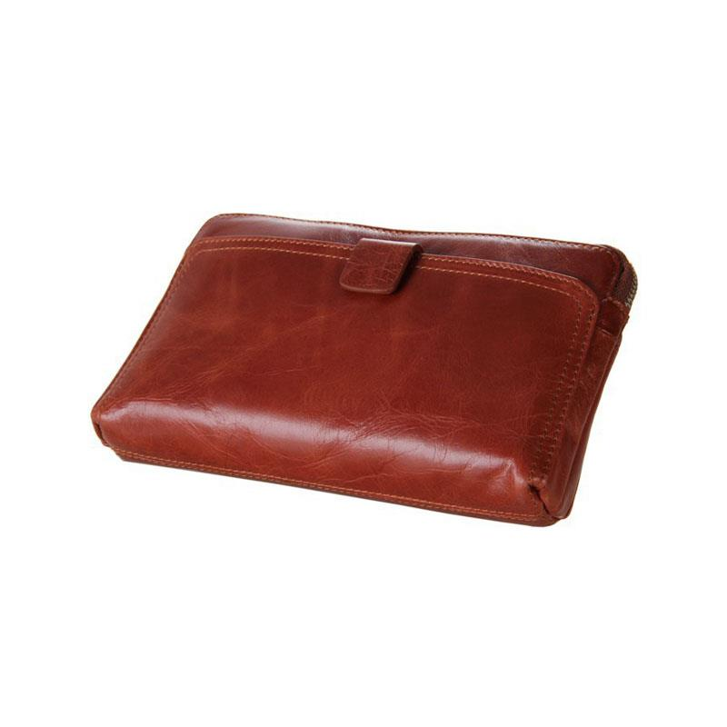 cowhide wallet men wallets promotion high quality Genuine Leather Men Wallet Clutch Bag Card Purse Free Shipping Cowskin wallet