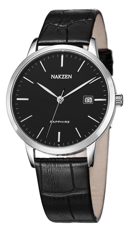 NAKZEN SL4031GBK-1 watches men luxury brand JAPAN MOVT MIYOTA Ultra thin leather mens watch relogio masculino feminino<br><br>Aliexpress