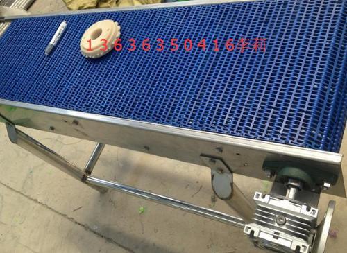 Plastic modular belt conveyors transporting food processing equipment beverage production line conveyor packaging line(China (Mainland))