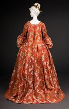 Fripperies and Fobs Victorian satin Dresses