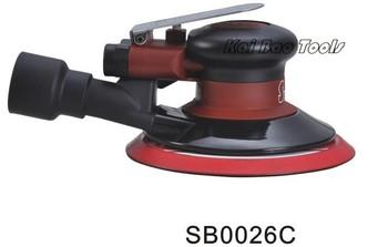 Air Random Orbital Sander Polisher Manufacturer 6inch 150mm CENTRAL VACUUM ORBIT 2.5mm or 6mm (SB0026C)