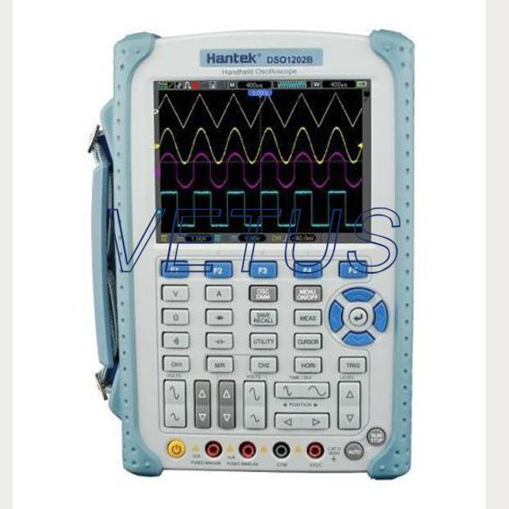 High Resolution Digital Oscilloscope 640*480 DSO1202B Handheld Multimeter 200MHz 2Channels Oscilloscope 1GSa/s 1M 5.6 TFT LCD<br><br>Aliexpress