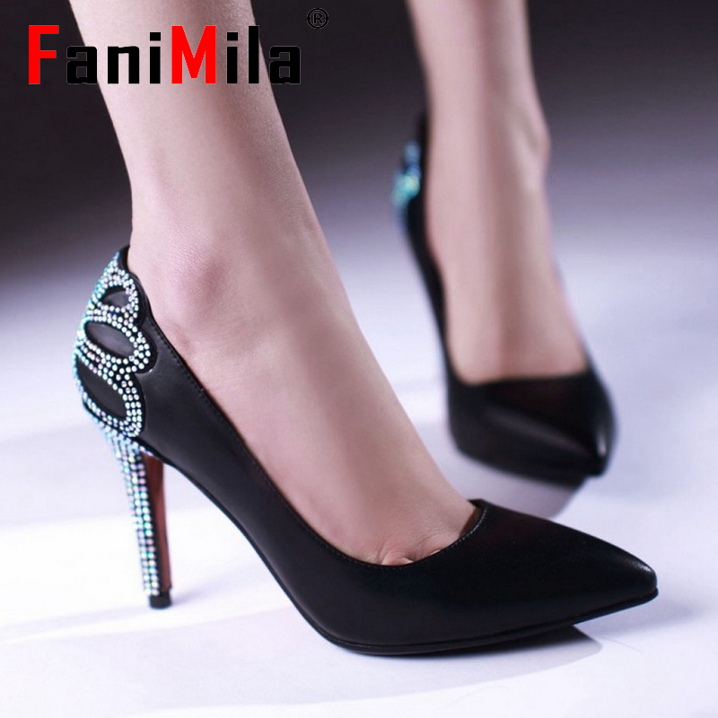 women thin high heel shoes pointed toe spring quality footwear stiletto fashion heeled pumps heels shoes size 34-39 P17110<br><br>Aliexpress