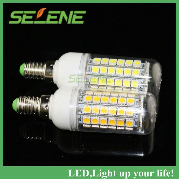 Гаджет  5PS high brightness SMD 5050 15W E14 LED 220V corn bulb lamp,Warm white/white,69LEDs 5050SMD led lighting,Book light,kitchen use None Свет и освещение