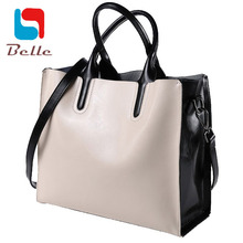100% genuine leather bag designer handbags high quality Dollar prices shoulder bag women messenger bags tote 2016 famous brands(China (Mainland))