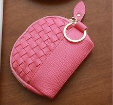 2015APPBLOG brand cute sweet women girl sac femme zip clutch coin wallet mini kint top leather zero purse delicate porte monnaie