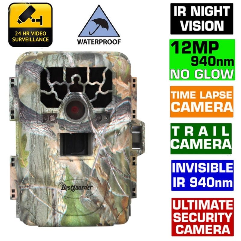 Free Shipping!SG-880V 1080P No Glow 12MP 940NM Mini Infrared IR Digital Trail Game Scouting Hunting Camera<br><br>Aliexpress