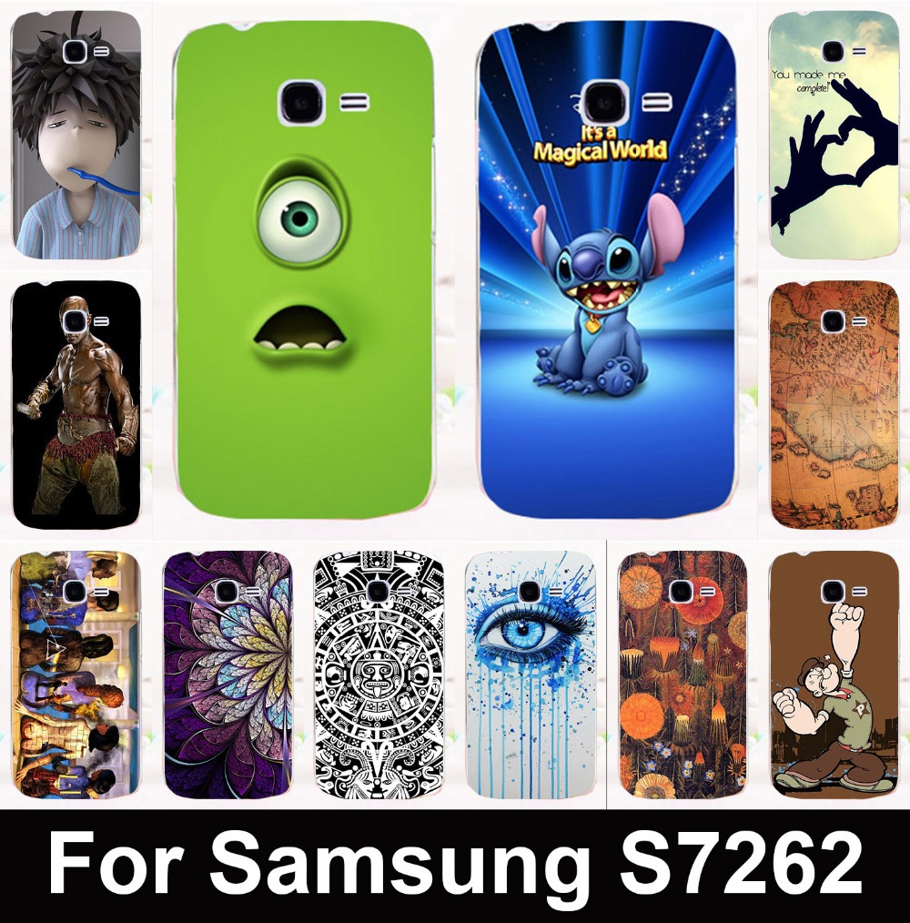 New arrival hot patterns mobile phone case protective case hard Back cover for Samsung Galaxy Star Pro S7260 S7262 s7278 i679(China (Mainland))
