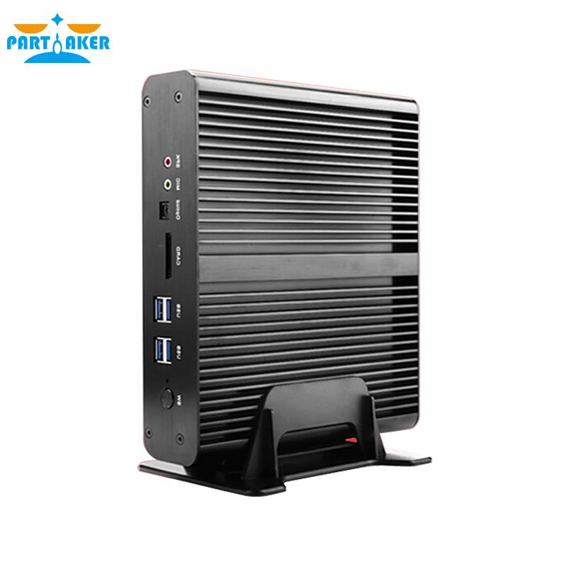Partaker B2 Windows Mini pc i7 Barebone HTPC Fanless Computer Broadwell 5Gen Core i7 5500U with 300M Wifi i7 4650u(China (Mainland))