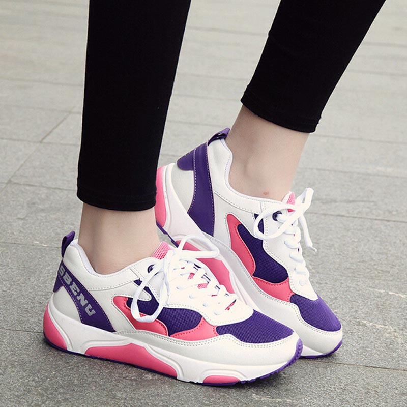 New Nice Spring Summer Adults Pop Flats Shoes Women Sport Outdoor Walking Good Quallity Shoes Discount C138(China (Mainland))