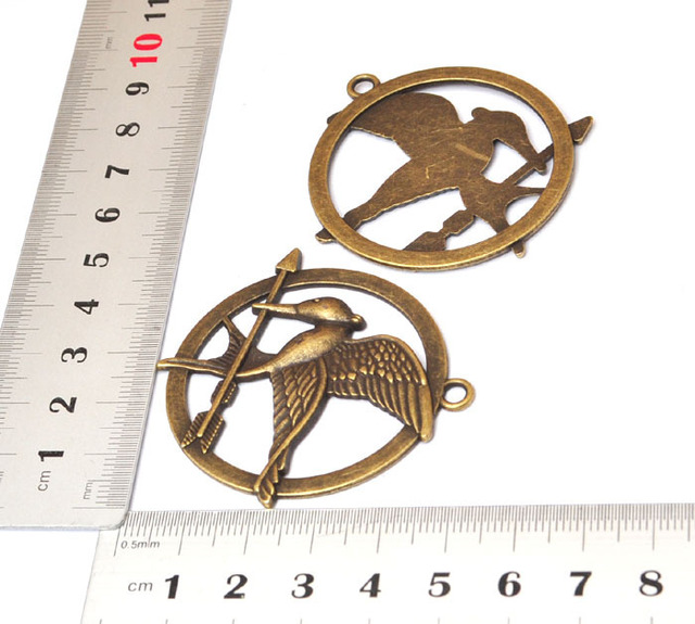 (10PCS/Bag)Bronze The Hunger Games DIY materials Jewelry Findings and Jewelry Supplies [JCZL DIY Shop]