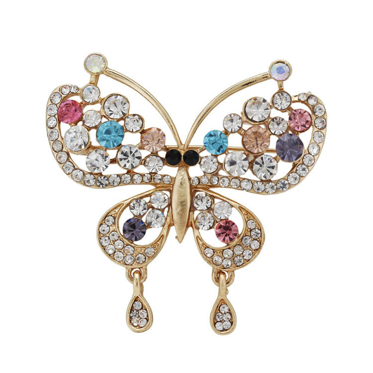 Brooch pin up for wedding dress cachecol game rhinestone for Vintage pin up wedding dresses