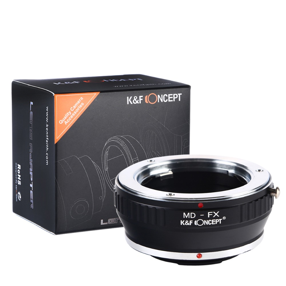 Lens Adapter Ring MD-FX Minolta MD MC Mount Lens Fujifilm X Mount X-Pro1 Camera Adapter Ring Photography Accessories