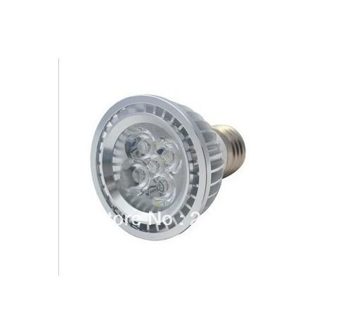 High Quality LED Light PAR 20 15W 5X3W Spotlight E27,1pcs/lot sliver 110V 220V Cool White Warm White PAR20 Low price(China (Mainland))