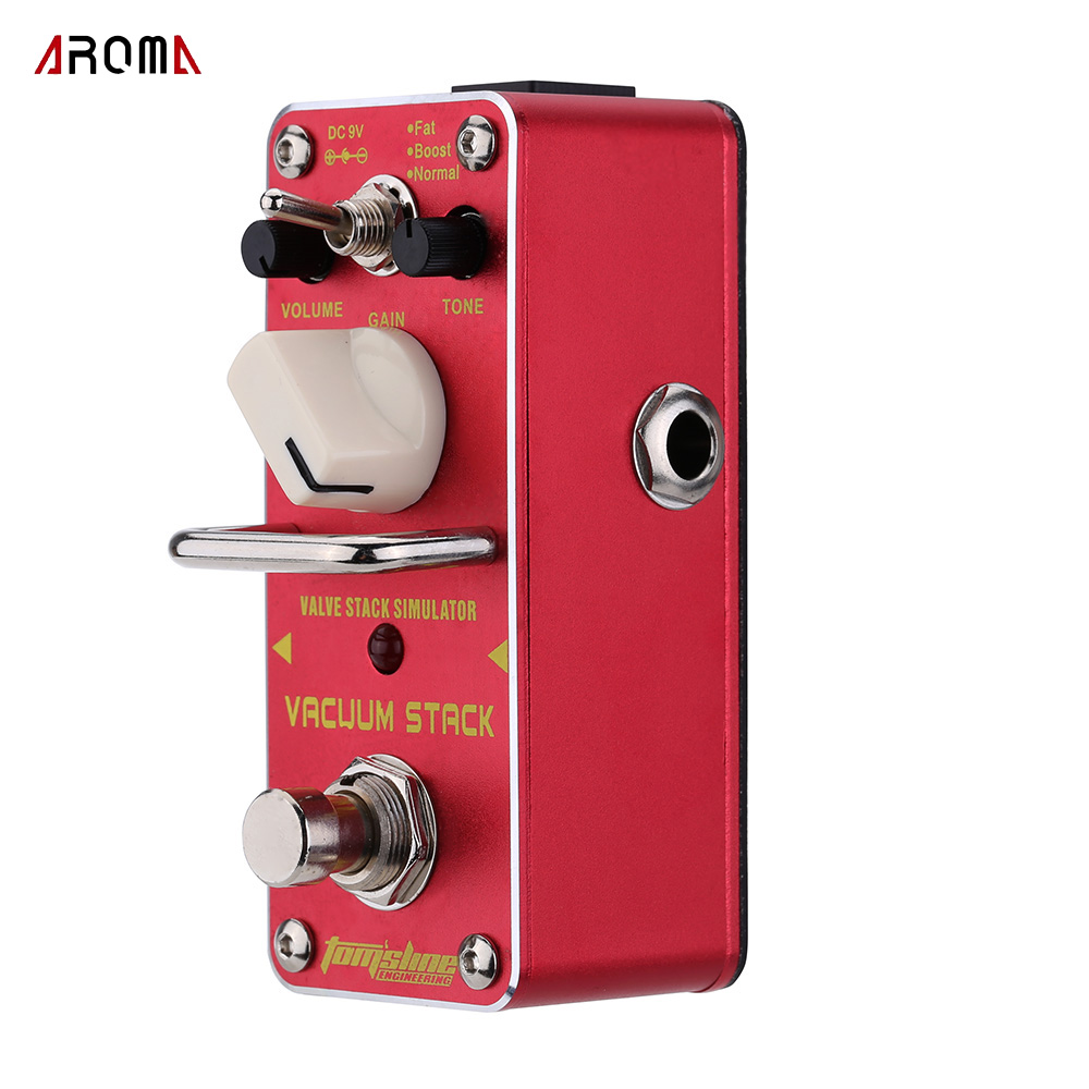 AROMA AVS-3 Vacuum Stack Simulator Electric Guitar Effect Pedal Mini Single Effect with True Bypass(China (Mainland))