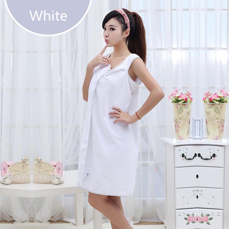 Fashion Soft Microfiber Practical Beach Towel Bath Towel Absorbent Wearable White Towel Home Textile Bathroom 80x140cm(China (Mainland))