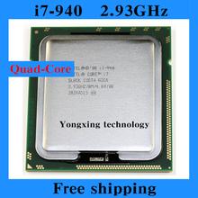 Core i7 940 2.93GHz 8M SLBCK Quad Core Eight threads desktop processors Computer CPU Socket LGA 1366 pin