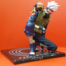 Free shipping 15cm Anime GEM Naruto Hatake Kakashi PVC Collectible action Figure Toys Classic Toys KB047