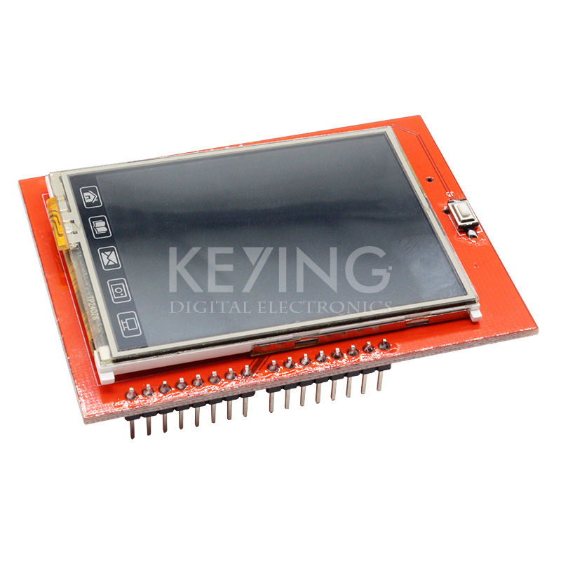 Touch Panel 2.4 inch TFT LCD Shield Module TF Reader Micro SD For Arduino Megas Free Shipping(China (Mainland))