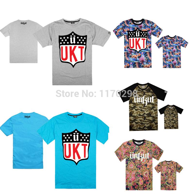 Wholesale retail unkut t shirts white logo print fashion for Bulk t shirts with logo