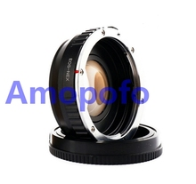 Buy Amopofo EOS-NEX Focal Reducer Speed Booster Adapter Canon EF mount Lens Sony NEX-VG900 NEX-VG30 NEX-EA50 FS700 for $79.99 in AliExpress store