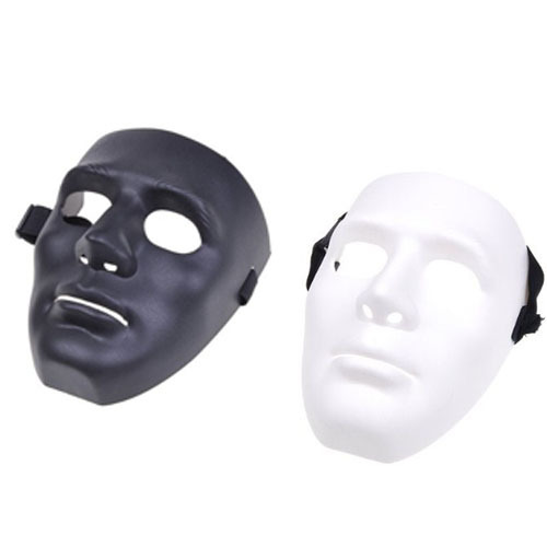 Full Face Hockey Type Airsoft Mesh Goggle Mask Cosplay Costume Party Halloween Prop Gift - Toyben Mall store