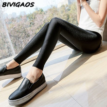 Buy Womens Spring Autumn Thin Leggings Sexy Pants Female Summer Stretch Shiny Gloss Black Leggings Women Leggins Workout Leggings for $5.99 in AliExpress store