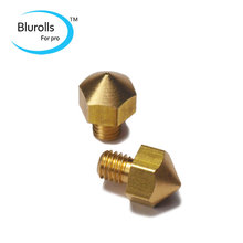 3 D printer accessory/parts Ultimaker original brass Nozzle 0.4mm for hot end 3 mm filament top quality free shipping