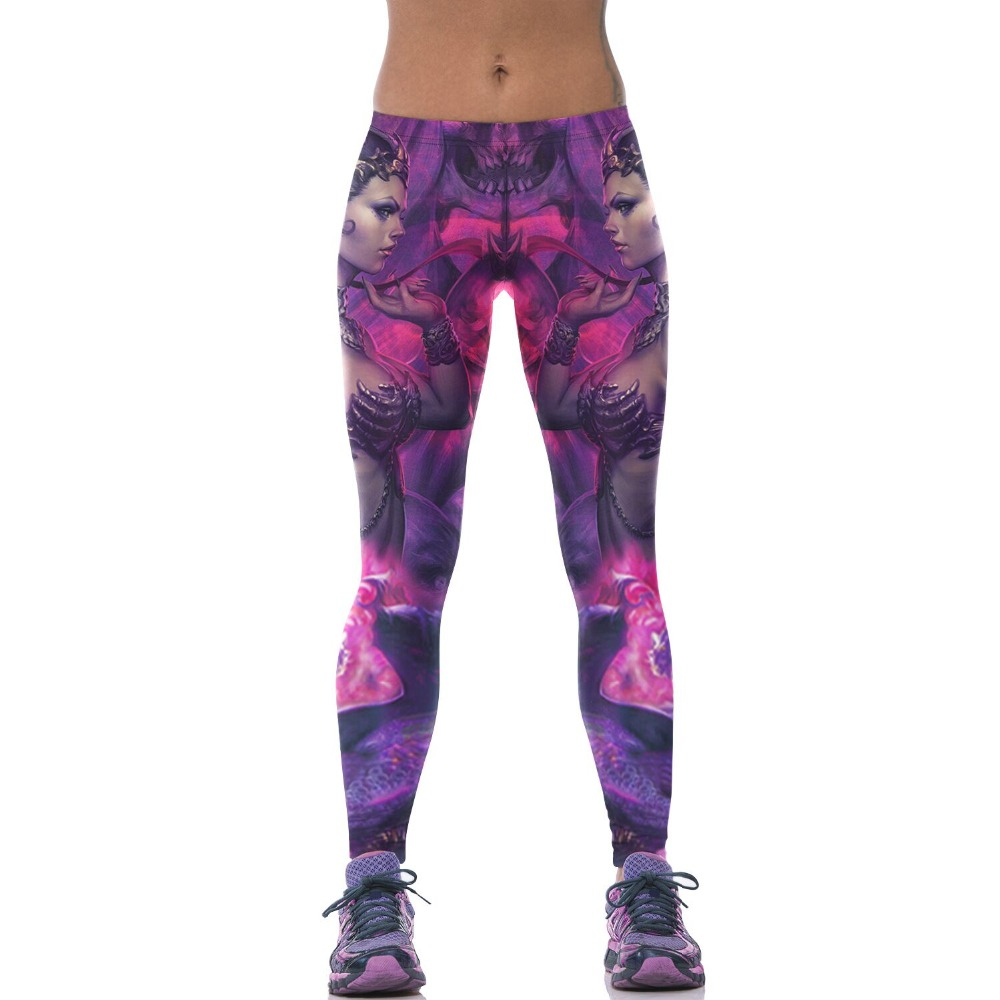 Harajuku 3D sexy women Muscle soldier 2015 fitness capri casual sport leggings gym high waist pencil jegging slim climbing pants(China (Mainland))