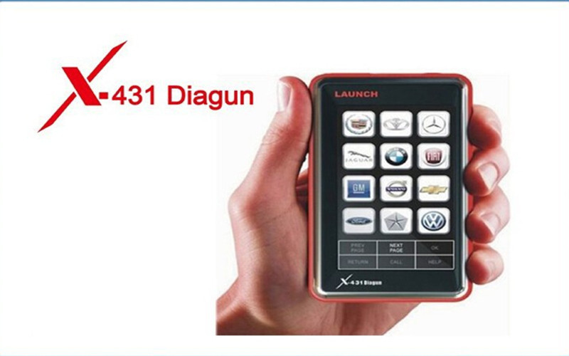 Newest Diagnostic tool Launch car detector X431 Diagun II obd2 Full Set Launch X431+Lifelong free update+3 years warranty(China (Mainland))