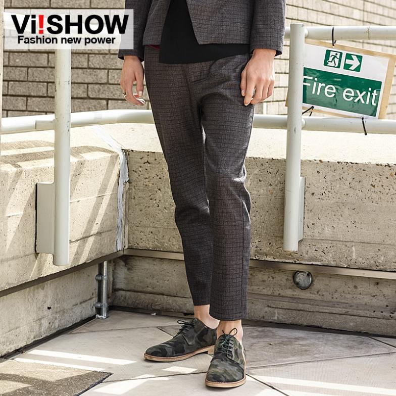 w wholesale men plaid trousers
