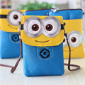 Ladies Leather Purse For Women Cute Minion Despicable Me Wallets Brand Design High Quality Children s
