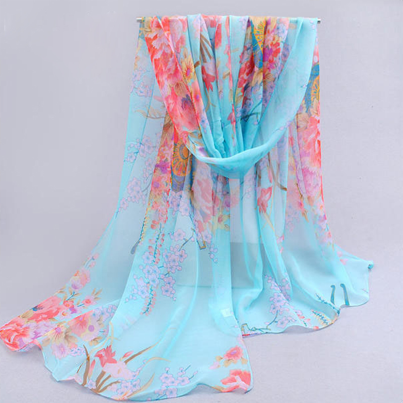 2015 hot wonderful flower long soft scarfs wrap shawl for elegant women han edition scarf scarves